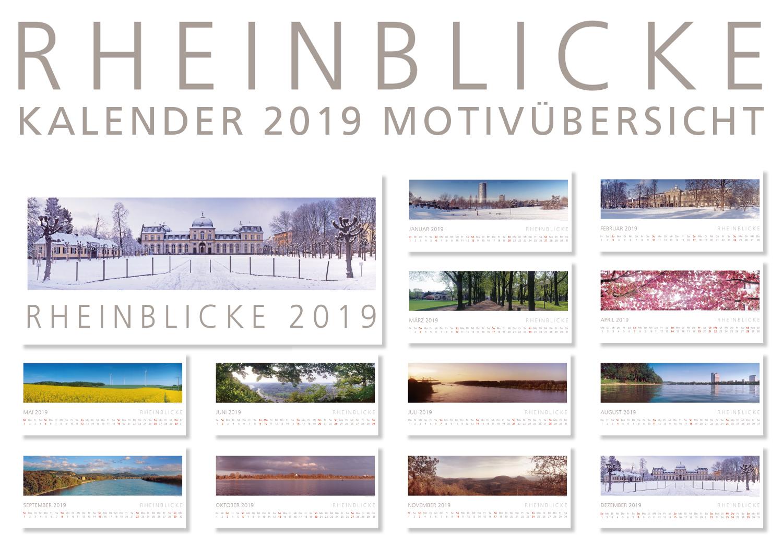 RHEINBLICKE Panorama-Kalender